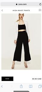 ZARA high waisted pants, size XL