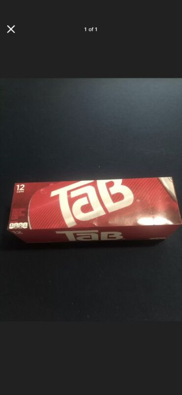 Two 12 PACK Of Tab Soda Cola Brand New Unopened Discontinued SOLD OUT HOT🔥🔥📈