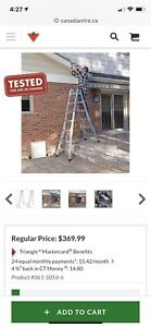 Extension Ladder multi-task