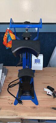 Geoknight Dk7 Hat Heat Press