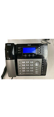 Rca Visys 4 Line Expandable Business Phone W Call Waiting Caller Id 25424re1