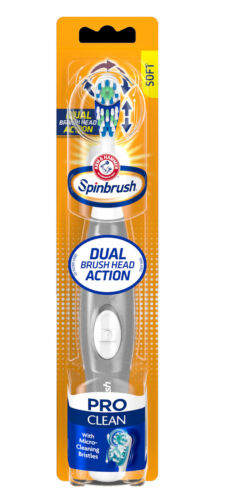 proclean battery powered toothbrush