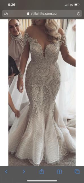 Wedding Gown designed by George El Sissa Sydney Region