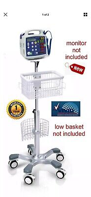 Rolling Stand For Csi Criticare 506dn3506dxn Monitor New 1 Yr Warranty