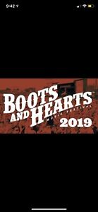 Boots and hearts GA weekend passed