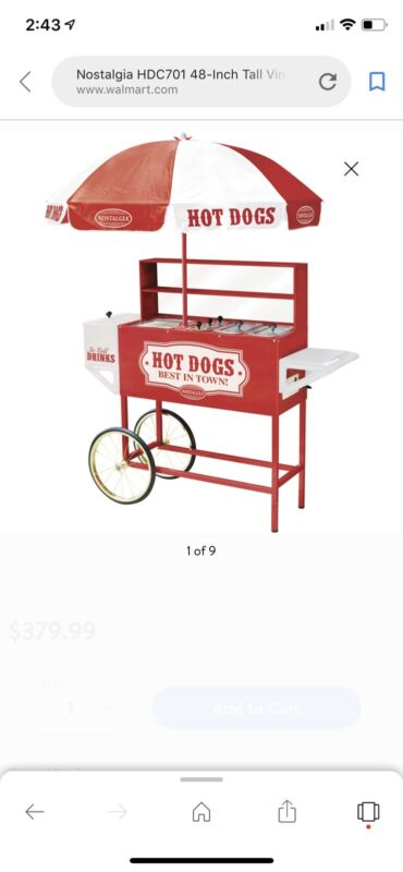 Great Northern 9-Roller Hot Dog Grilling Machine ID 3493895