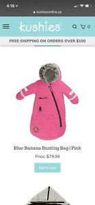 Baby bunting Snow suit (also available in navy)