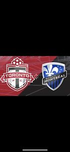 Tfc vs montreal impact FIELD TICKETS august 25th