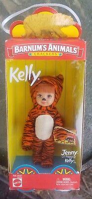 Jenny Friend of Kelly Doll Barnum's Animals Crackers Tiger Barbie NRFB 56334 HTF