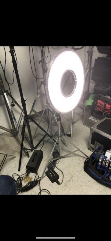 Litepanels RingLite Cinema LED Camera Ring Light For Arri Alexa, Red Sony Camera
