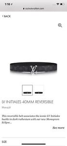 Reversible LV belt