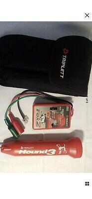 Triplett 3399 Fox 2 Hound 3 Premium Tone Probe Kit Continuity Tester
