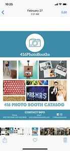 416 PHOTOBOOTHS rentals