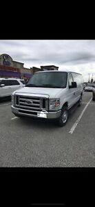 2013 ford E-250 with ladder rack