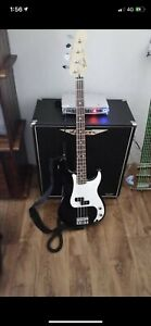 Fender STD P-Bass RW Black