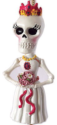 Day of the Dead Bride  Ornament by Kurt Adler- - Day Of The Dead Bride
