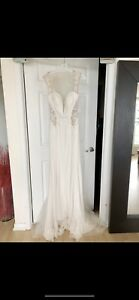 BRAND NEW Galina Signature Ivory Wedding Dress