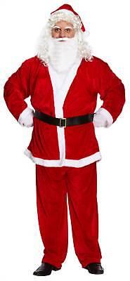 Adult Men Men's Santa Claus Christmas Party Grotto Fancy Dress Up Costume - S Dress Up Party Kostüm