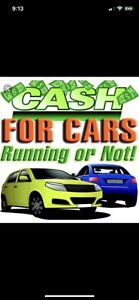 Get TOP CASH for your Scrap & Used Cars Today!!