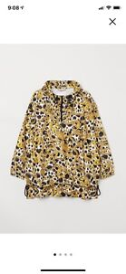 H and m moschino pattered anorak sz:L