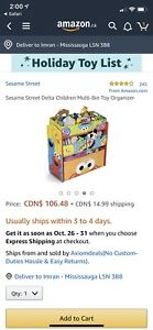Sesame Street Storage Bin 50% off!!—Only $60!!!