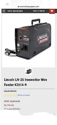 Lincoln Ln-25 Ironworker Wire Feeder