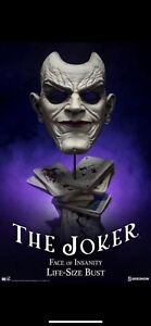 Joker Face of Insanity Life Size Bust Unopened RETAIL