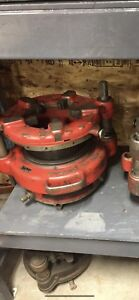 Ridgid 65r, 4pj, 141 and a 161 pipe threaders