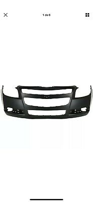 FRONT NEW BUMPER COVER  2008-2012 CHEVY MALIBU w/ Fog Light Holes
