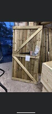 Featheredge Gate 6ft X 900