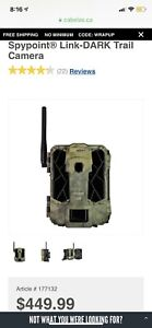 SpyPoint link dark trail hunting camera brand new