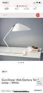 New in box West Elm Lamp