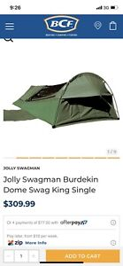 Jollyman king single swag - BRAND NEW! RRP $300