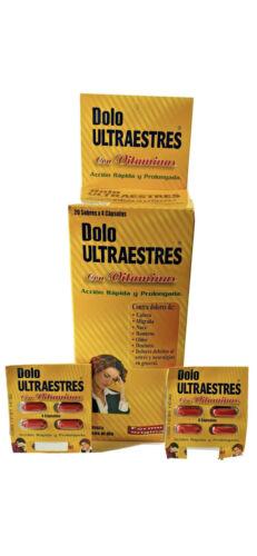 Dolo ultraestres vitaminado CAJA COMPLETA 80 Pastillas. Migraña, estres, dolor