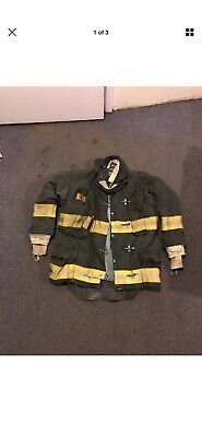 Morning Pride Gear Bunker Jacket Turnout Jacket Fdny Style Size 43