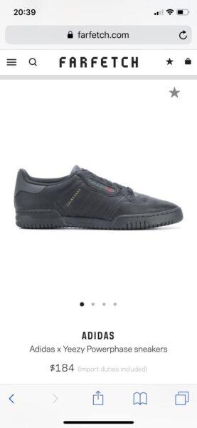 74c3fd6c11b7f5 Adidas x Yeezy Powerphase sneakers