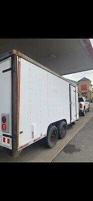 16 Enclosed Cargowork Trailer Last Used For Fiber Splicing