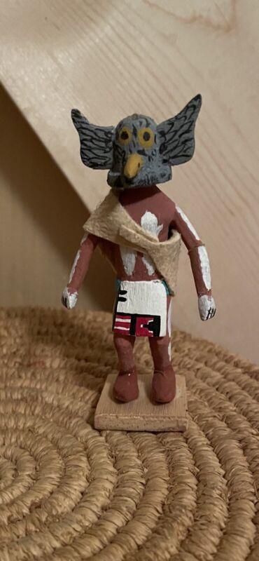 Miniature Hopi Kachina Doll signed L Namoki