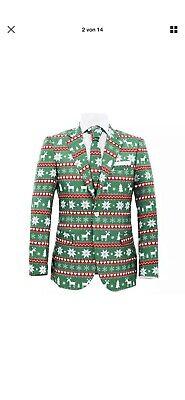 vidaXL Herren Weihnachten Anzug 2-tlg. Krawatte Gr. - Weihnachten Anzug