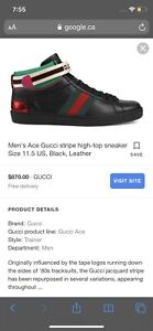 Gucci shoes new ace high s size 9.5