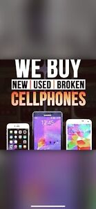 I buy all USED , BROKEN & I CLOUD phones for cash $$$
