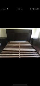 King bed with mattress