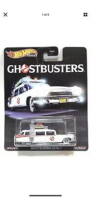 Hot Wheels Premium Retro Entertainment Ghostbusters Ecto-1 - Real Riders