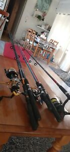 Family pack fishing rod/reels
