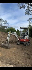 1.7t Excavator for hire