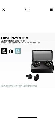 Tranya T1 In-Ear Wireless Headphones - Black The Best Value Earbuds Ever