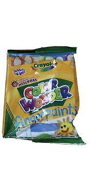 Crayola Color Wonder Fingerpaints Mess Free!! Crayola Color Wonder Finger Paints