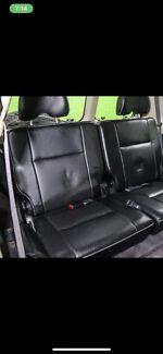 Gu Patrol rear 3rd row seats Leather