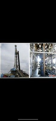 Land Cantilever Rig 1000 Hp Capable Of Drilling To 18.000 Land Rig Oil Rig