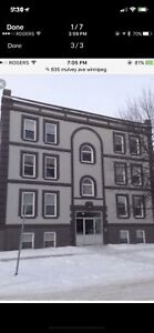 One bedroom apartment on Mulvey .... Mins from Corydon ASAP